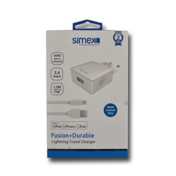 Simex İphone Sarj Aleti Seti